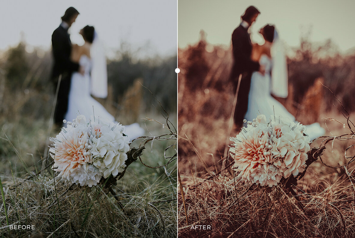 Dreamy Pastel Wedding Lightroom Presets