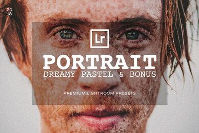 Dreamy Pastel Portrait Lightroom Presets