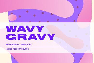 Wavy Gravy   Background Illustrations