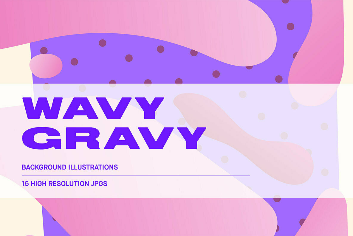 Wavy Gravy   Background Illustrations