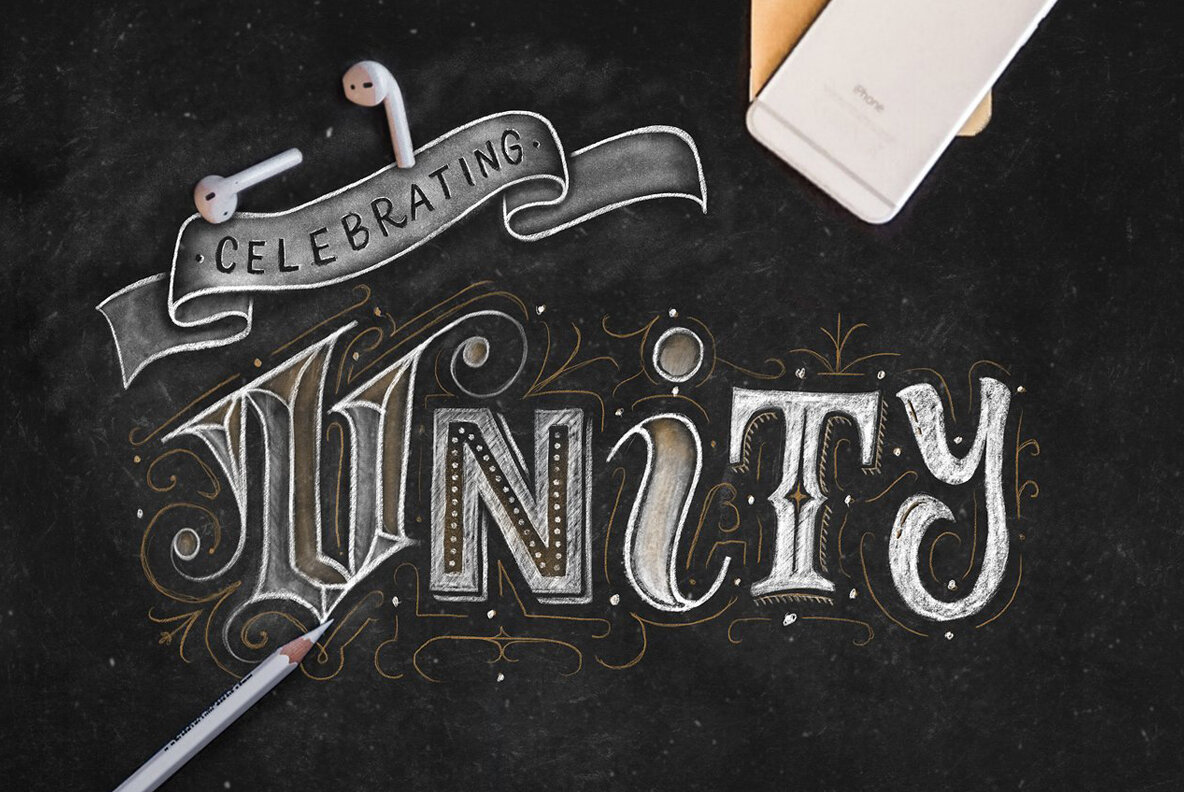 Chalk Dust   Procreate Lettering Kit