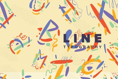 Line Typography