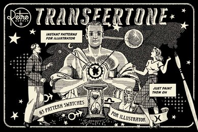 TransferTone   Dry Transfer Patterns for Adobe Illustrator