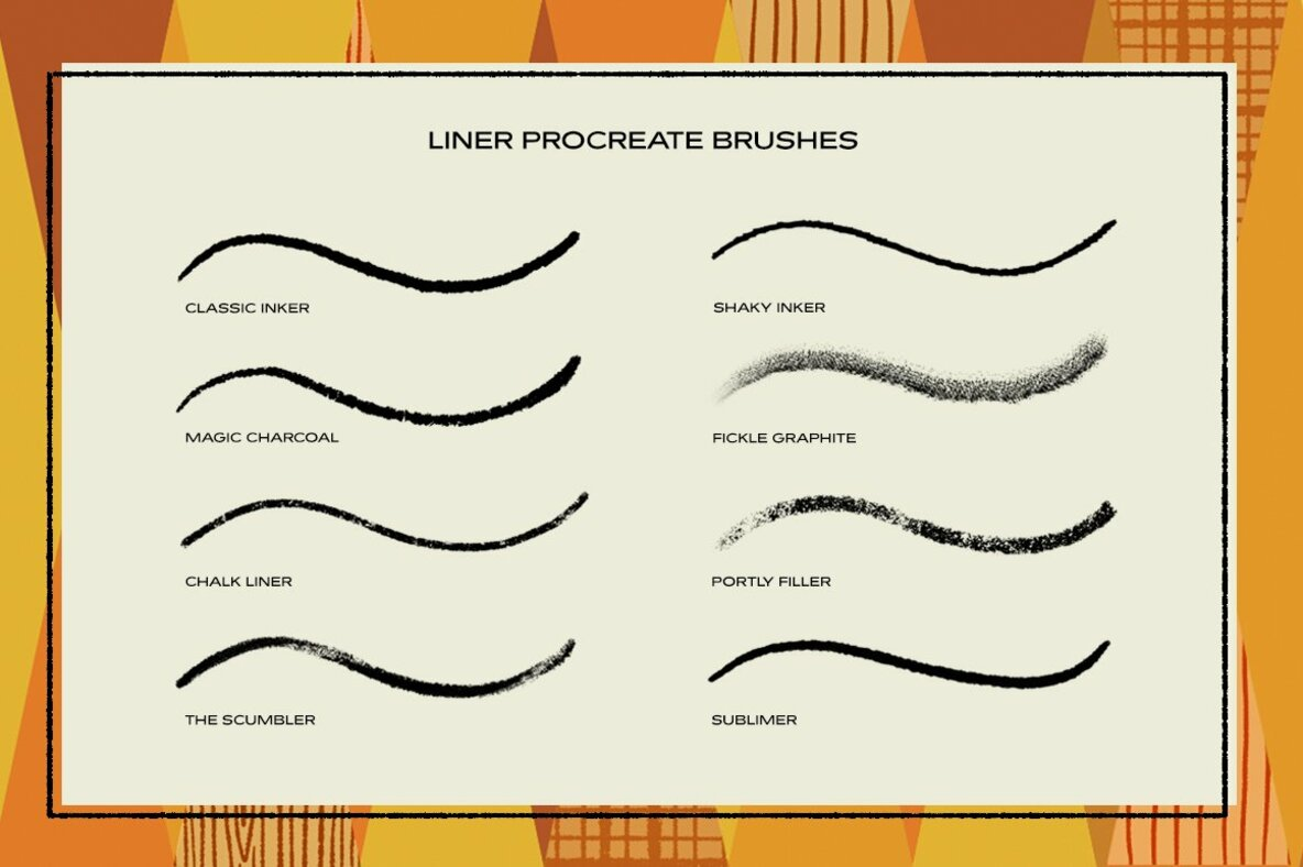 The Liner Brush Pack for Procreate