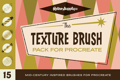 The Texture Brush Pack for Procreate