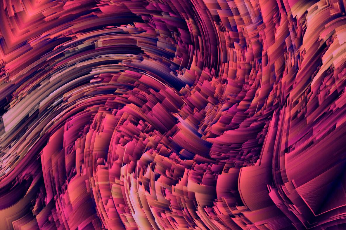 Radiate   Energetic 3D Textures