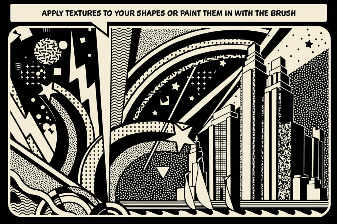 TransferTone   Dry Transfer Patterns for Procreate
