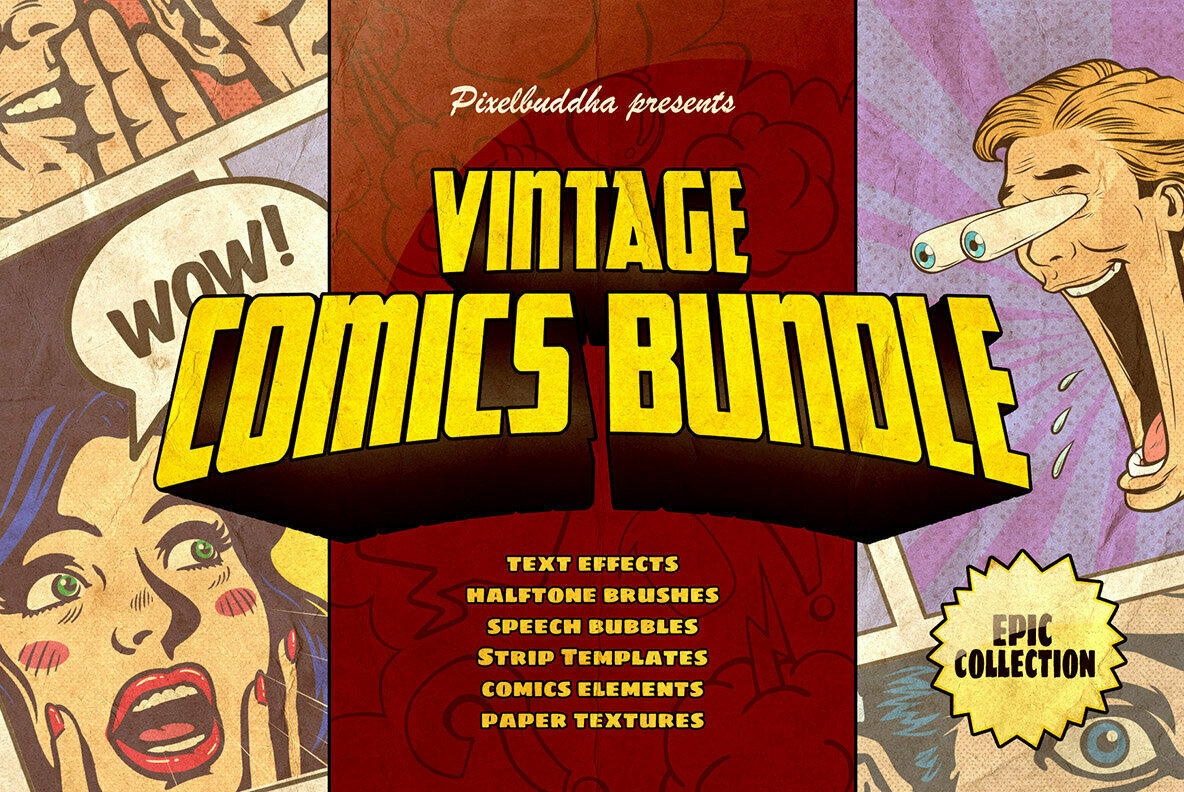 Marvelous Vintage Comics Bundle