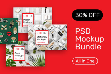 Mockup Bundle Pack   All in One