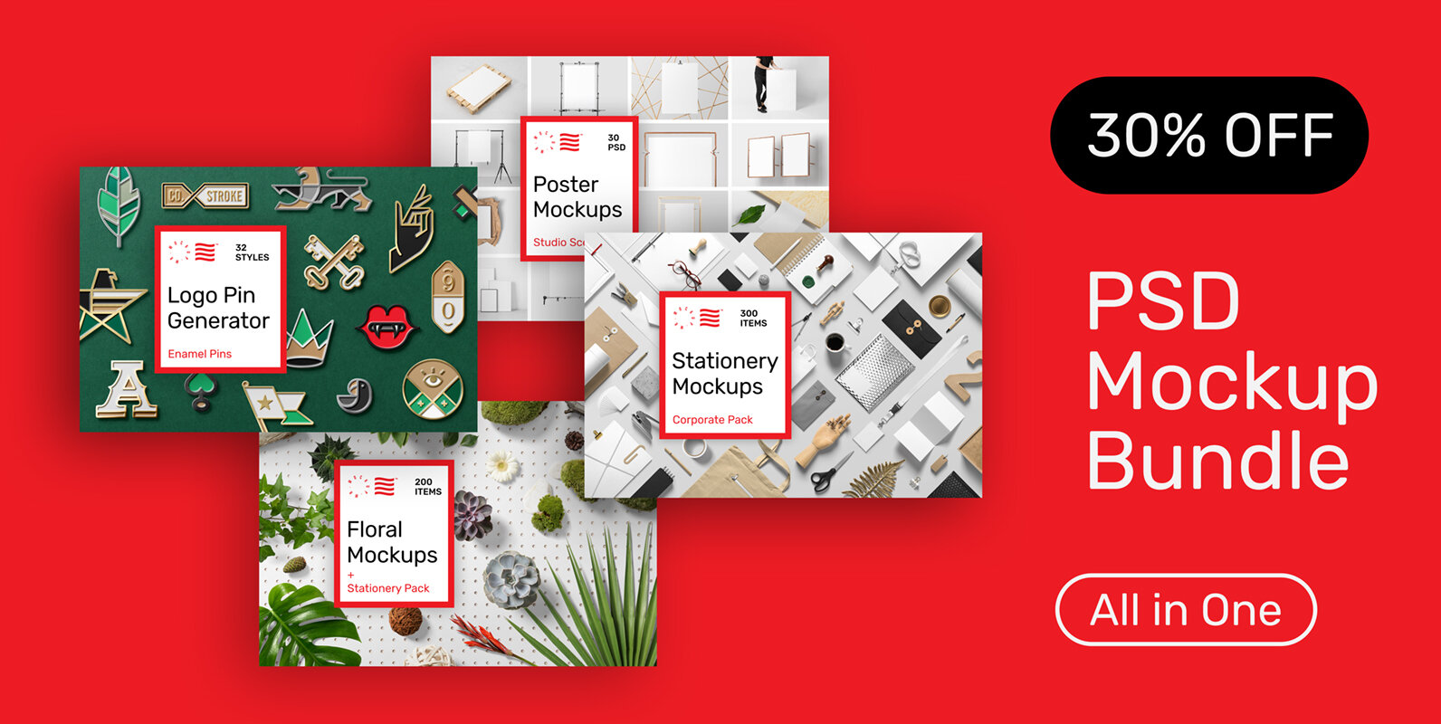 Mockup Bundle Pack - All in One