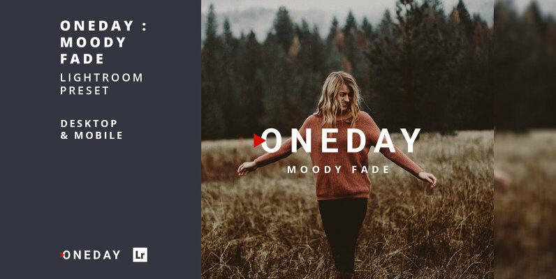 Oneday Moody Fade Lightroom Presets
