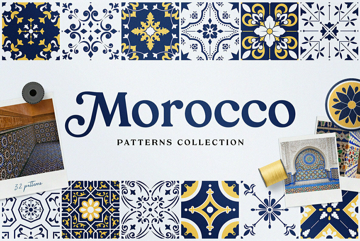 Moroccan Patterns and Ornaments