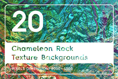 20 Chameleon Rock Texture Backgrounds