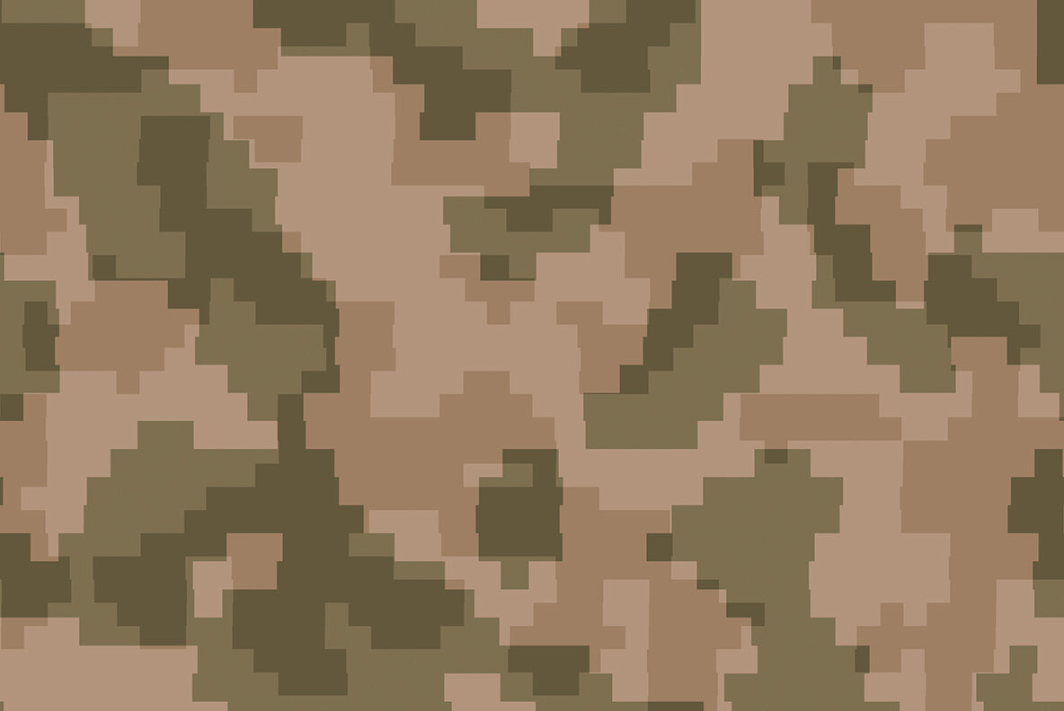 Pixel Camouflage Textures