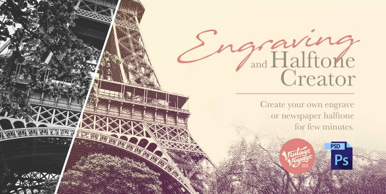 Engrave and Halftone Creator