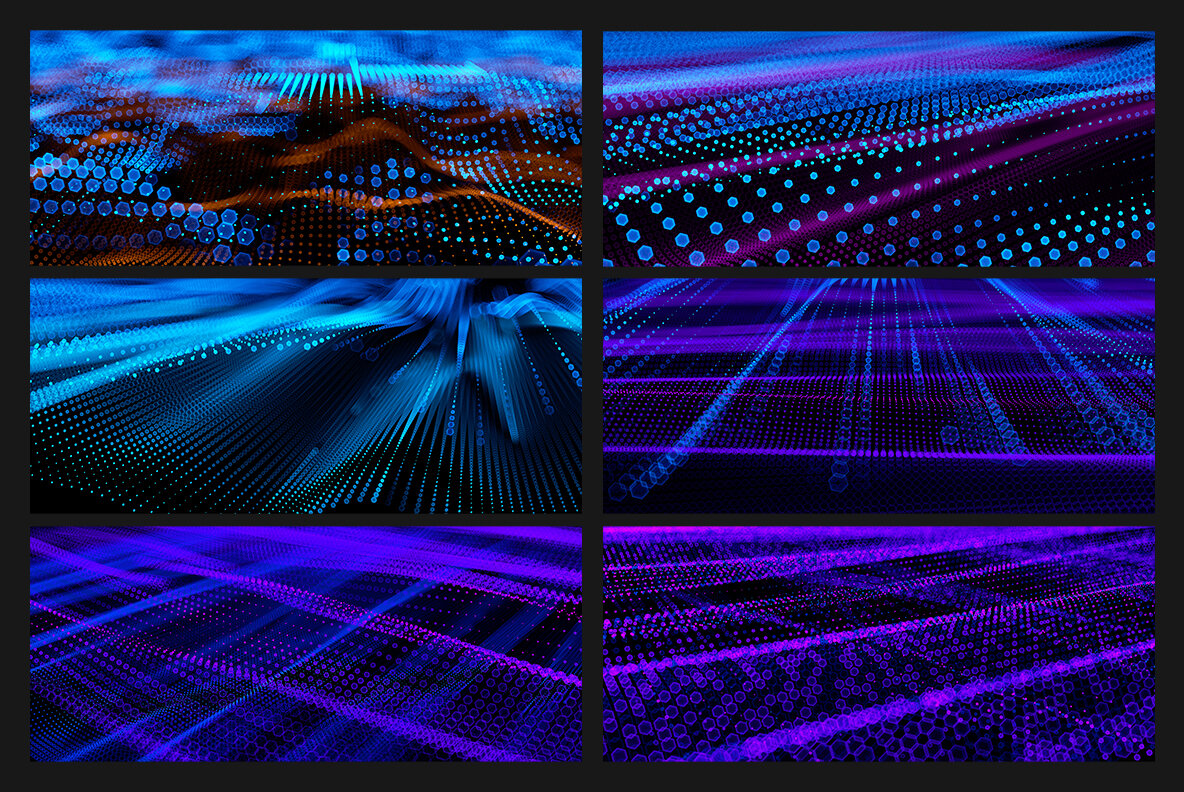 Big Data   Abstract Backgrounds