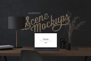 Interior Workspace Mockups