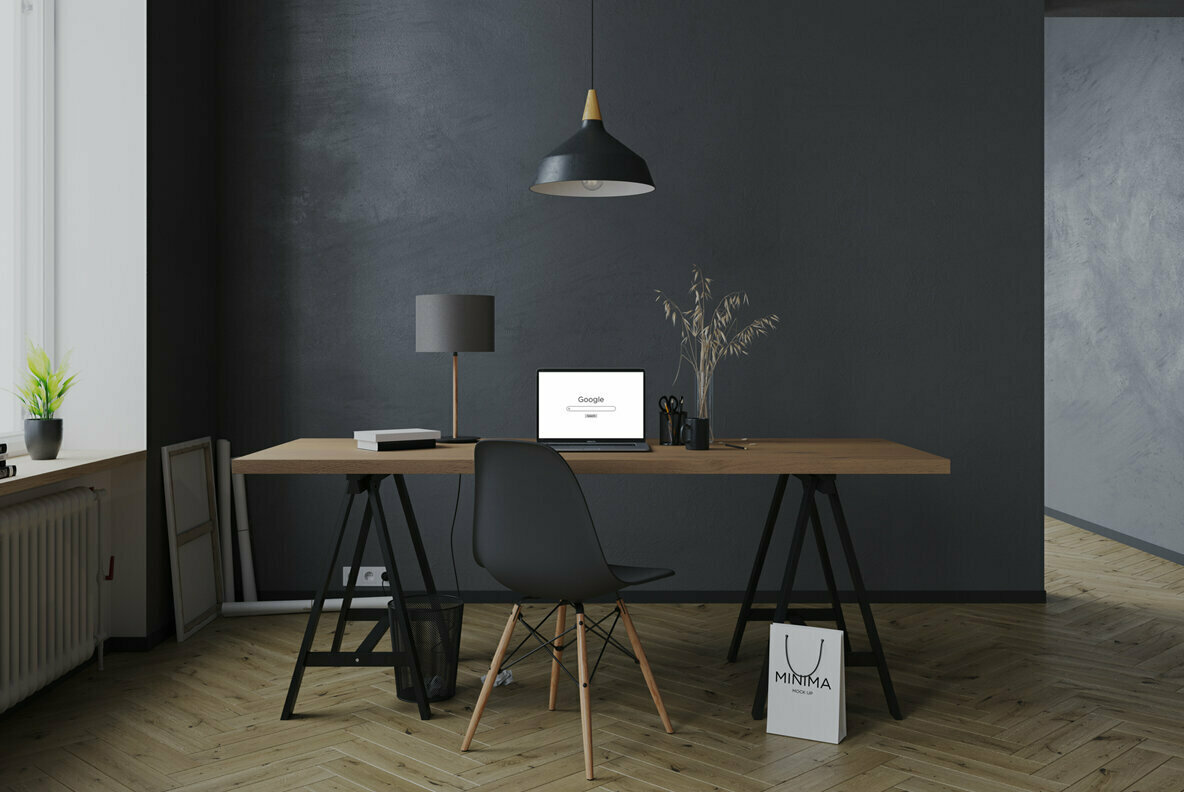 Interior Workspace Mockups
