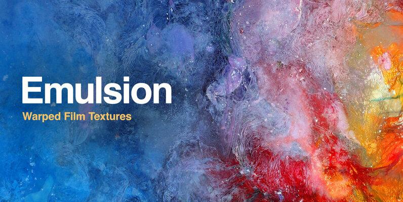 Emulsion - Warped Film Textures