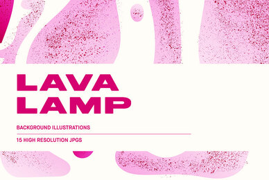 Lava Lamp   Background Illustrations