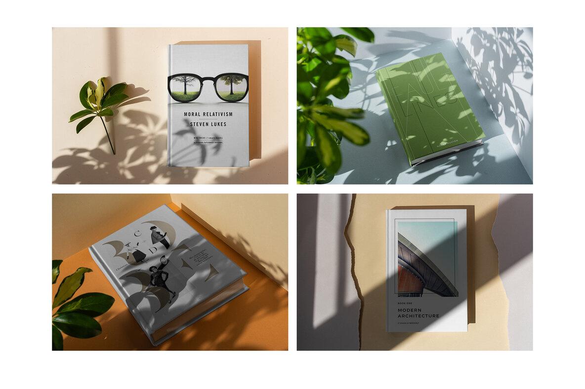 Book Hardcover Shadows Collection