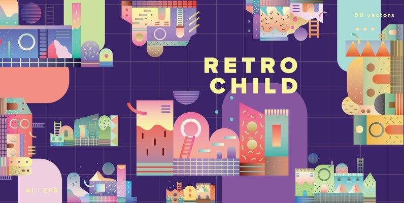 Retro Child