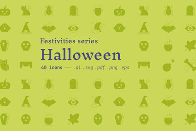Halloween   Festivities Icons