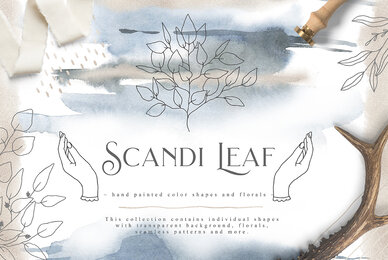 Scandi Leaf Collection