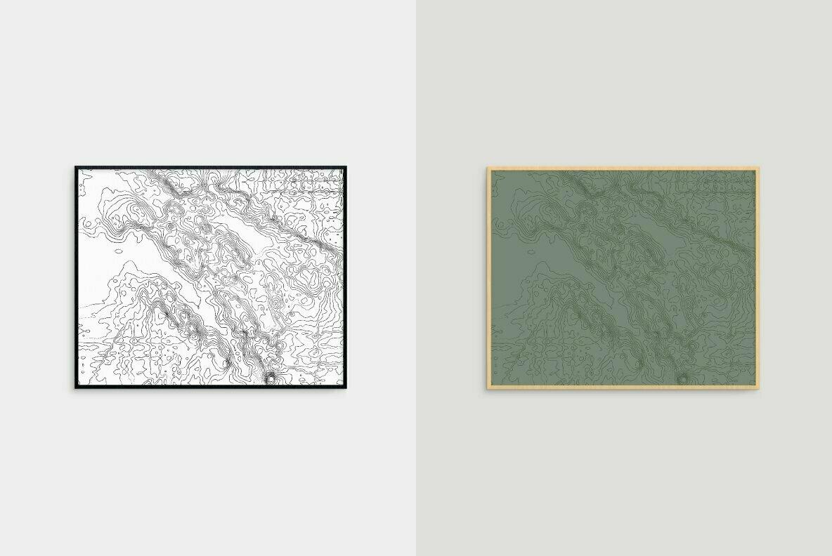 Napa Valley Topographic Maps
