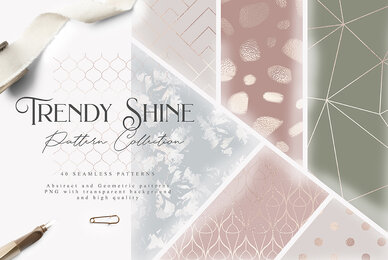 Trendy Shine Pattern Collection