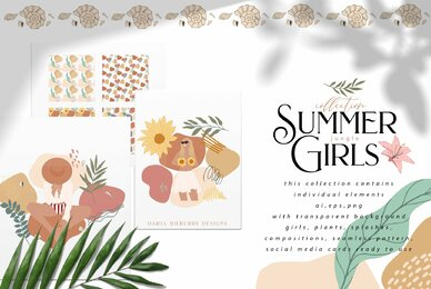 Summer Jungle Girls Collection