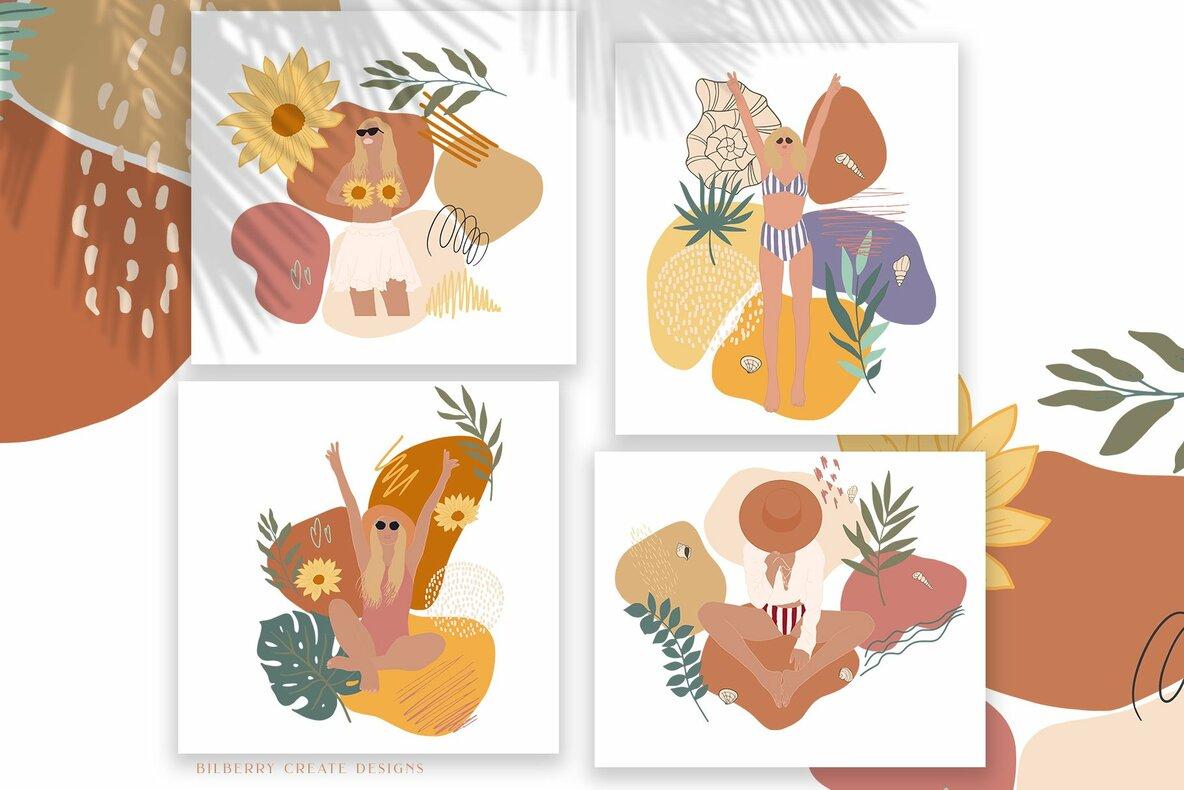 Summer Jungle Girls Collection