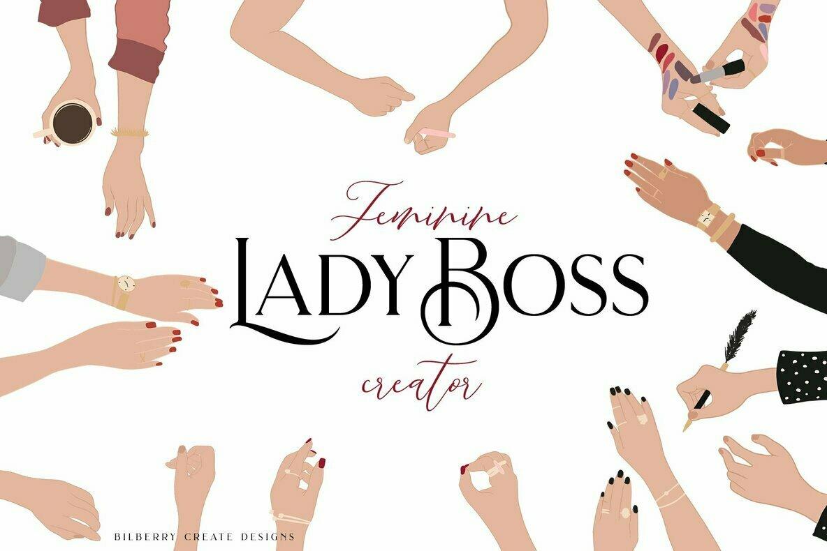 Feminine Lady Boss Creator
