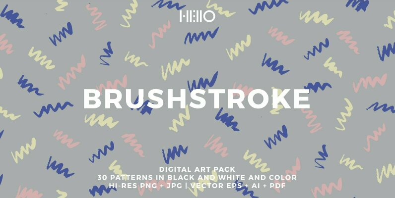 Brushstroke Patterns