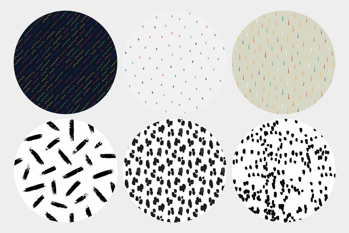 Brushstroke Patterns