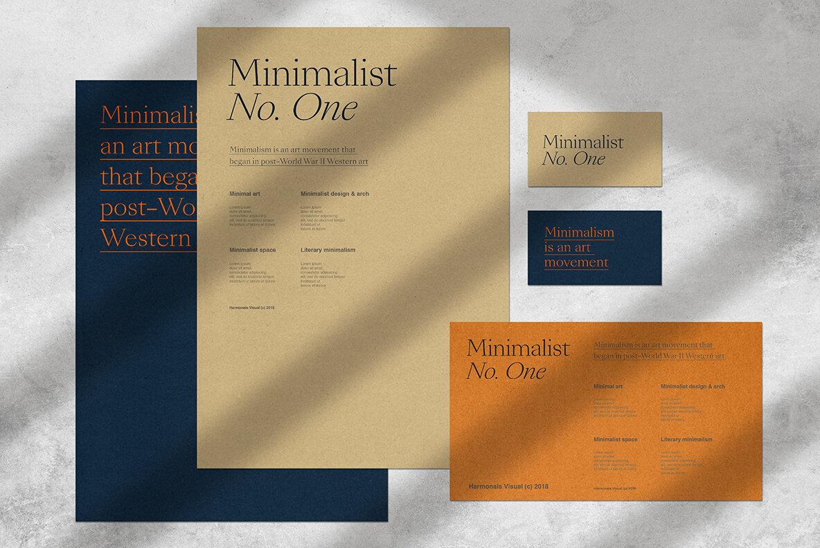 Minimalist No 1   All Scenes