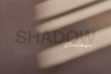 Shadow Play Photo Overlay