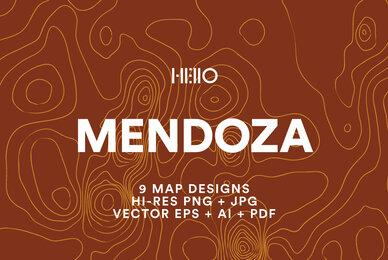 Mendoza Topographic Maps