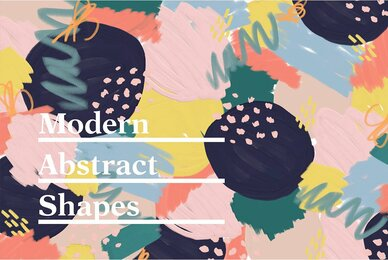 Modern Abstract Shapes and Patterns