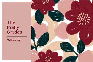 The Pretty Garden Pattern Set
