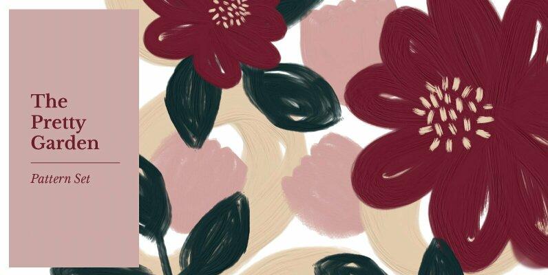 The Pretty Garden Pattern Set