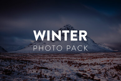 Winter Landscape Photo Pack