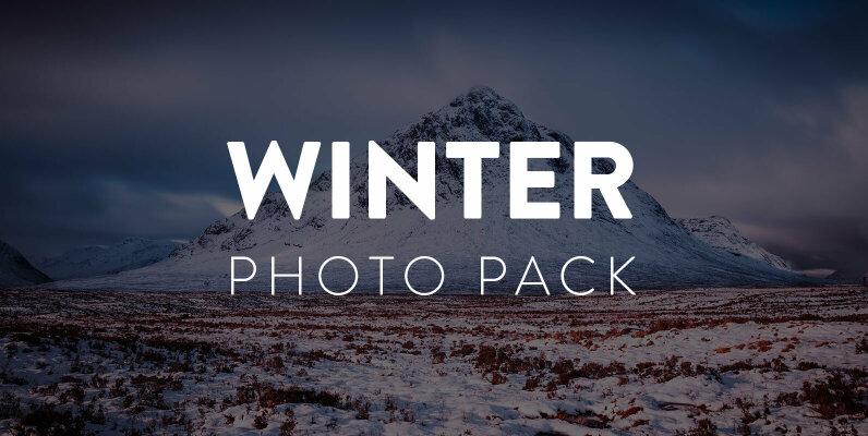 Winter Landscape Photo Pack