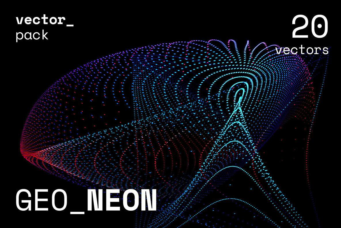 GEO NEON Vector Pack