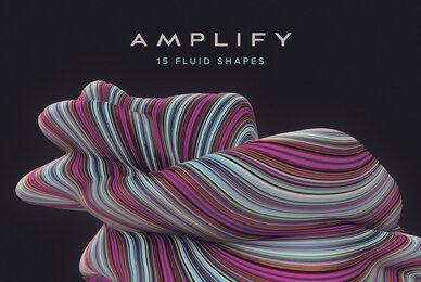 Amplify   15 Fluid 3D Shapes