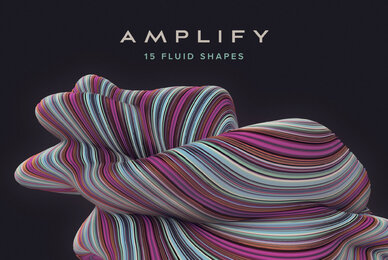 Amplify   15 Fluid 3D Shapes