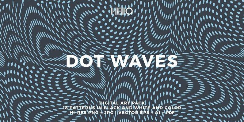 Dot Waves Patterns
