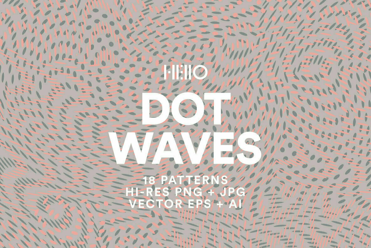 Dot Waves Patterns