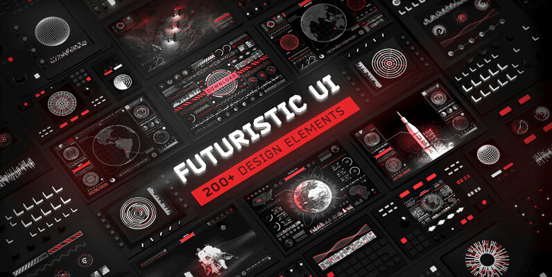 Futuristic UI Kit