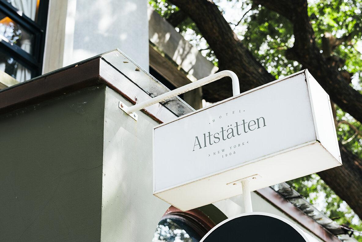 Altstatten Hotel Branding Kit